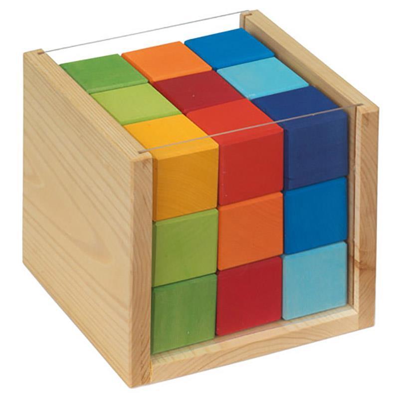 Конструктор nic деревянный кубики 27 эл. NIC523303