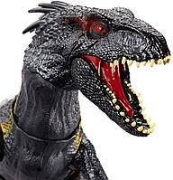 """Интерактивный динозавр Индораптор """"Мир Юрского периода"""" звук, свет Grab 'n Growl Indoraptor, Mattel из США"""