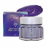 Сияющая маска-пленка для лица с алмазным комплексом PRRETI BlingGli Dia Peel-Off Mask Purple