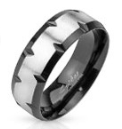 Мужское кольцо из стали Spikes FXT-SR1 - р. 18, 19, 20, 20.5, 21.5, 22, фото 1