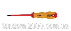 Отвертка шлицевая (SL) диэлектрическая 6.5 мм, L=150 мм 713065NF