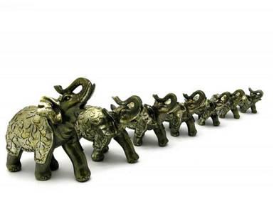 Слоны набор 7 шт (28х25х9 см)