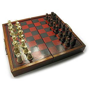 Шахматы антик (33х17,5х9,5 см) ( 1543)
