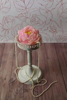 """Декоративная свеча """"Пион"""" розовый, фото 2"""