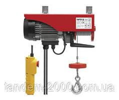 Таль электрическая канатная 500 Вт 125/250 кг YT-5901