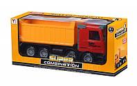 Машинка инерционная Same Toy Super Comaination Самосвал Красный 98-81Ut-1