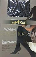 Теплые колготки Omsa Warm Sensation 600 den