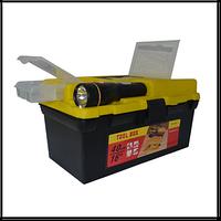 """Ящик для инструмента 16"""" с фонариком 395*220*200 мм 79K021"""