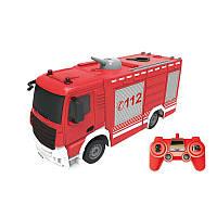 Машинка на р/у Same Toy Пожарная машина с распыльтелем воды E572-003