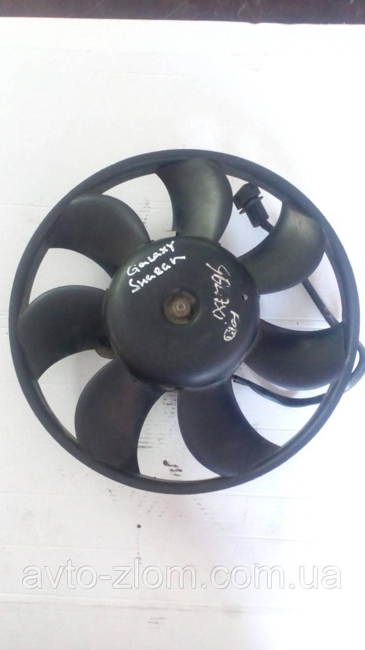 Вентилятор радиатора Volkswagen Passat B5, Sharan, Пассат Б5, Шаран. 7M0959455M.