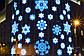 Светодиодная гирлянда фигура Снежинка 45х45см, фото 7