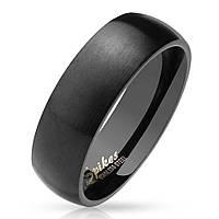 Мужское кольцо из стали матовое Spikes R027 - р. 18, 19, 20, 20.5, 21.5, 22