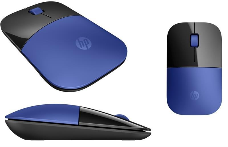 Мышь HP Z3700 WL Dragonfly Blue