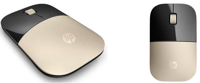 Мышь HP Z3700 WL Gold