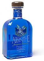 "Абсент Absinth Teichenne, ""Jacques Senaux"" Blue, 0.7 л Синий Абсент"