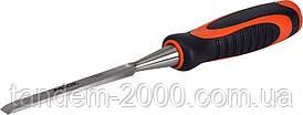 Стамеска 10мм CRV (резиновая рукоятка) Miol 22-410