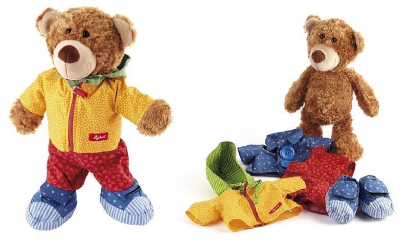 Мягкая игрушка sigikid Мишка с одеждой 35 см 40031SK