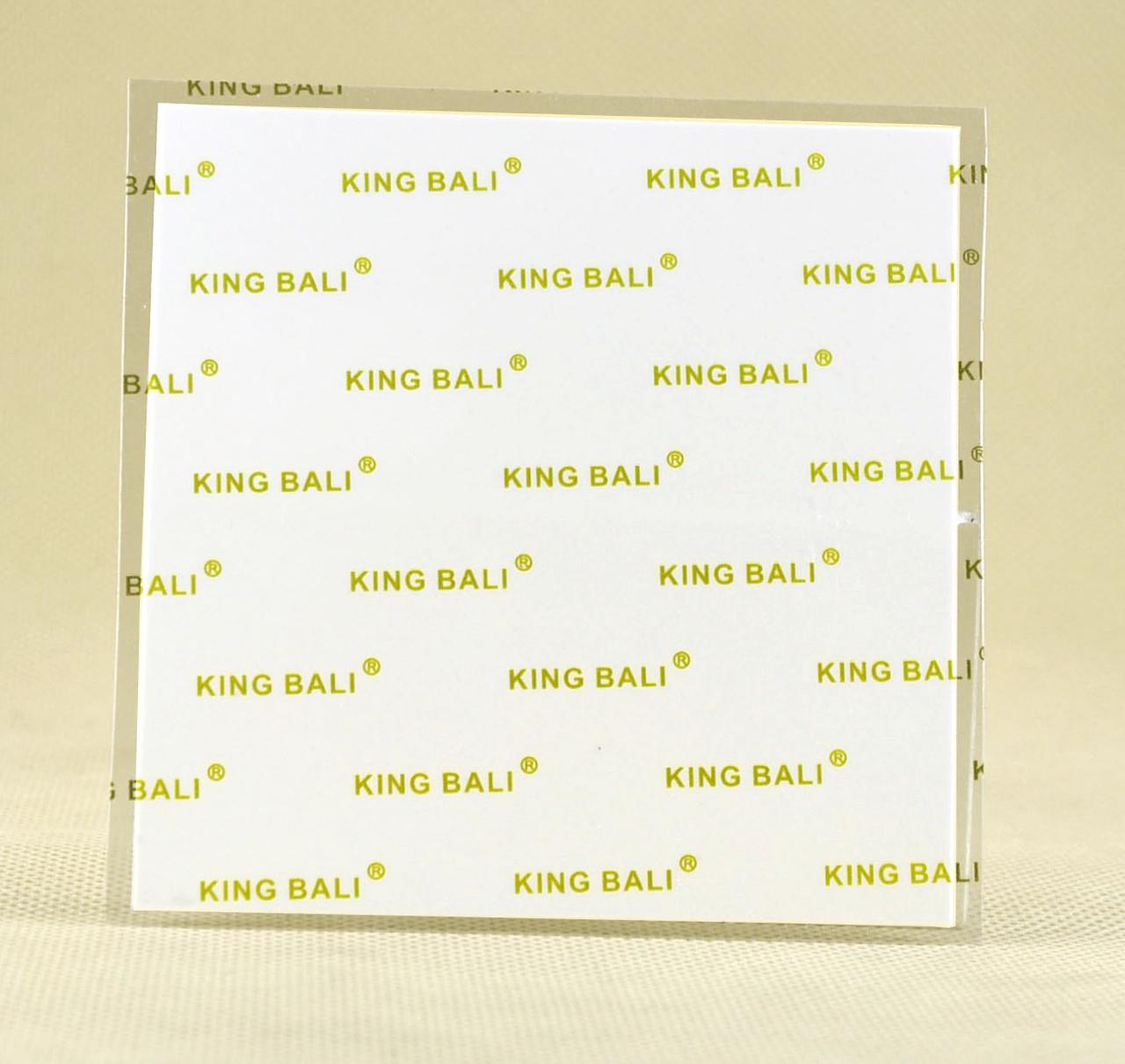 Термопрокладка KingBaliW 0.5 мм 100х100 белая 5W термоинтерфейс (TPr-KB5W 0.5-100)