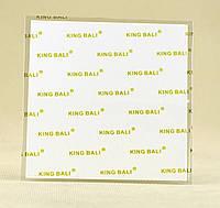 Термопрокладка KingBali W 0.5 мм 100х100 белая 5 Вт/(м*К) термо прокладка термоинтерфейс, фото 1