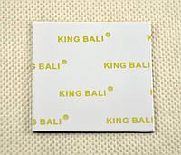 Термопрокладка KingBali W 0.5 мм 50х50 белая 5 Вт/м*Ктермоинтерфейс (TPr-KB5W 0.5-50), фото 1