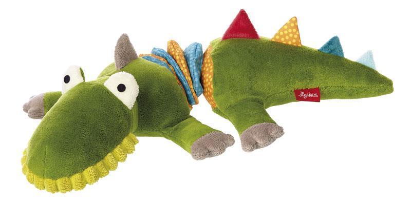 Мягкая игрушка с вибрацией sigikid Крокодил 34 см 41303SK