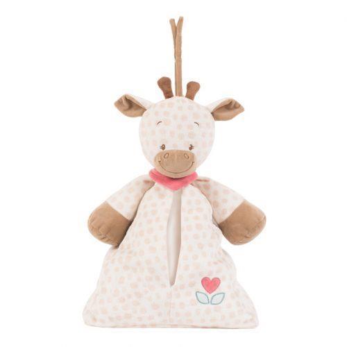 Мягкая игрушка Сумка для подгузников Nattou жираф Шарлота 655545