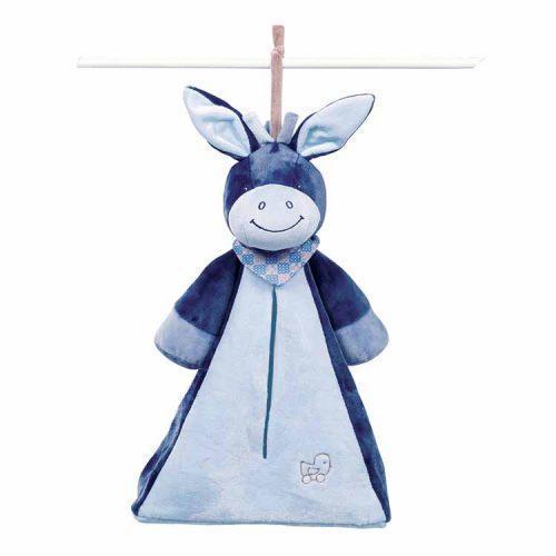 Мягкая игрушка Сумка для подгузников Nattou ослик Алекс 321495