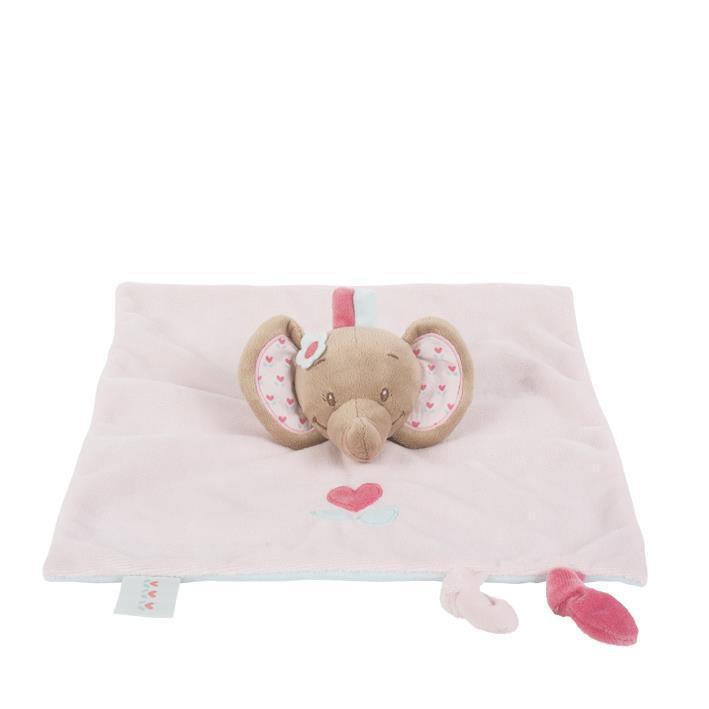 Мягкая игрушка-кукла Nattou слоник Рози 655125