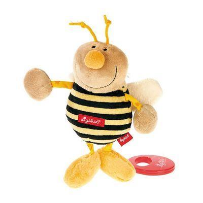 Мягкая музыкальная игрушка sigikid Пчёлка 22 см 49307SK