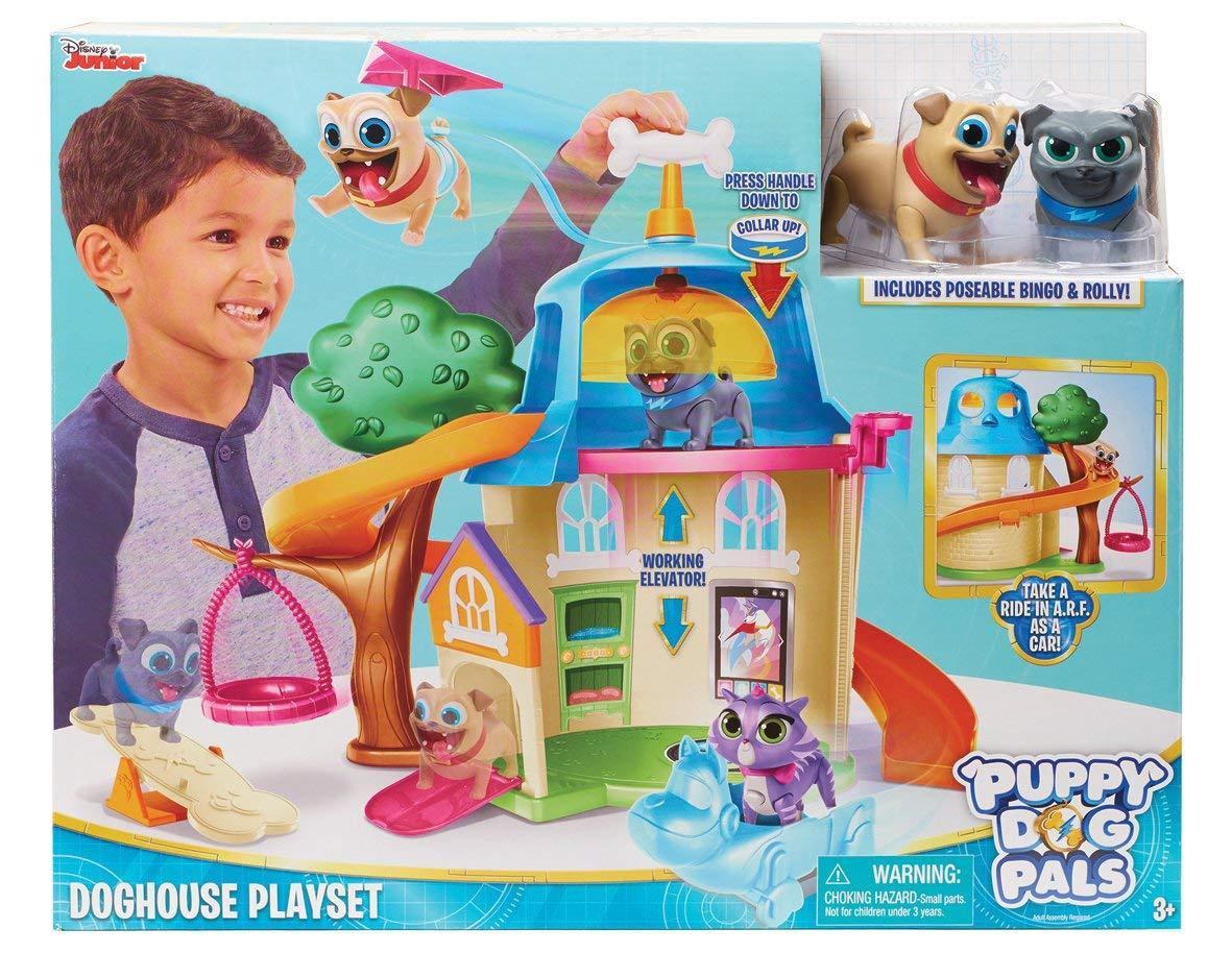 Игровой набор Дом Дружные Мопсы / Puppy dog pals dog, Disney из США