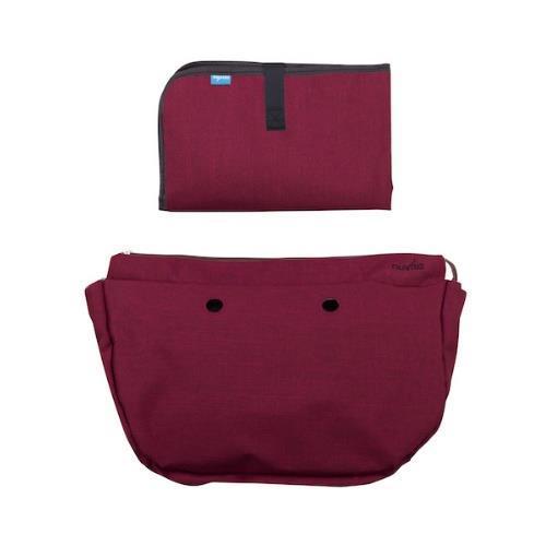 Набор (подкладка и коврик для пеленания) MyMia NV8802BORD бордовый