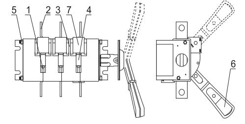 Конструкция рубильников ВР32