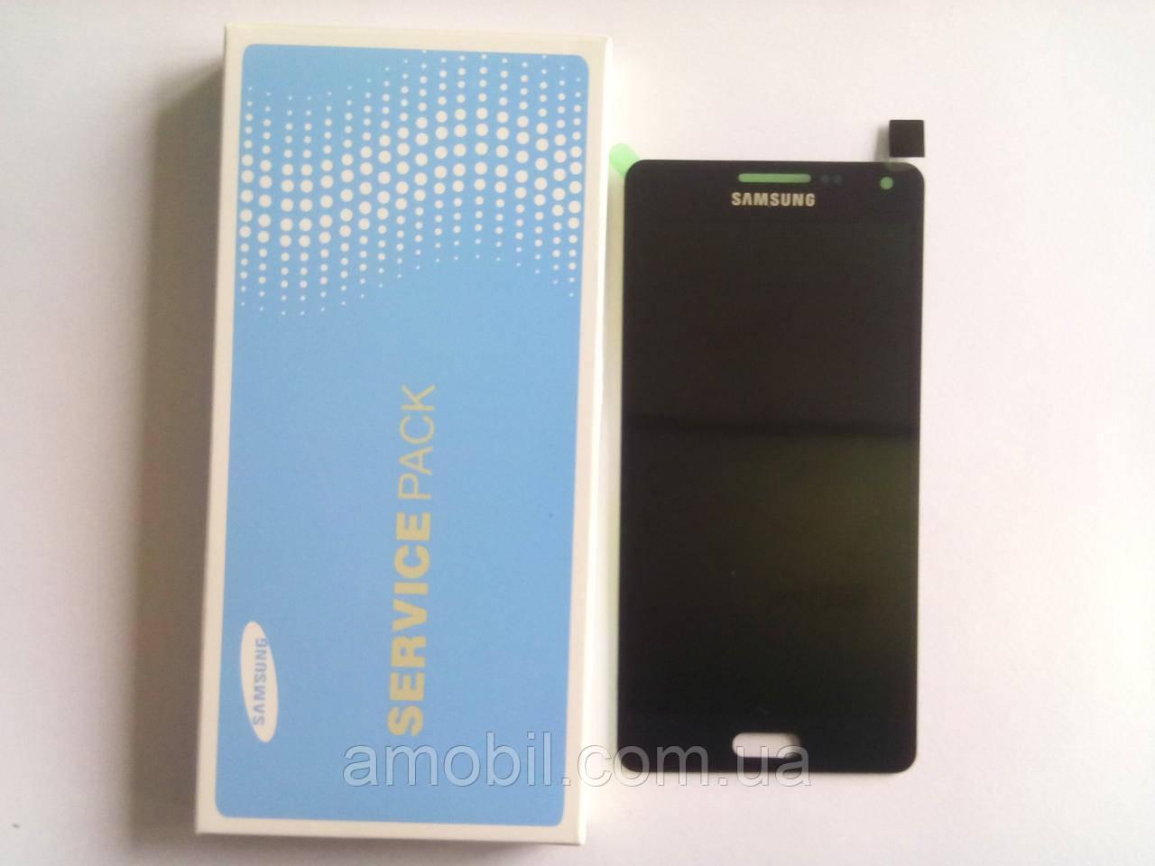 Дисплей Samsung AMOLED A500F, A500FU, A500H, A500M Galaxy A5 black orig