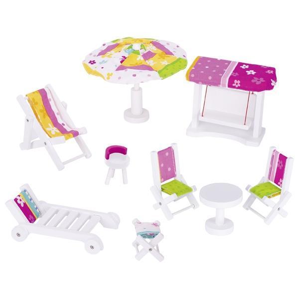 Набор для кукол goki Садовая мебель 51586G