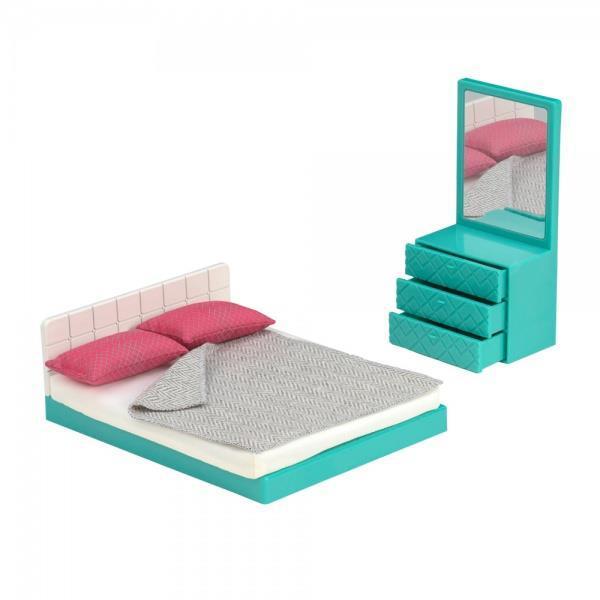 Набор для кукол LORI Мебель для спальни LO37013Z
