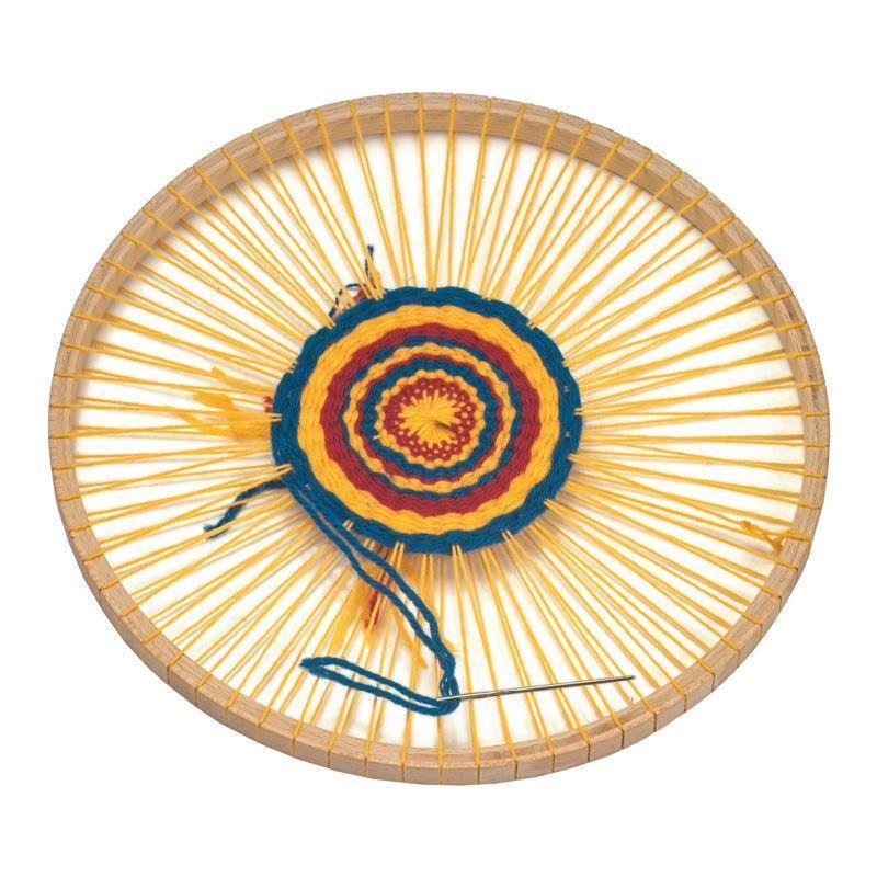 Набор для рукоделия nic Рамка для плетения круглая NIC540017