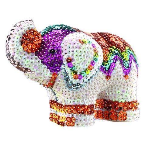 Набор для творчества Sequin Art 3D Elephant SA1121