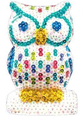 Набор для творчества Sequin Art 3D New Owl SA1409