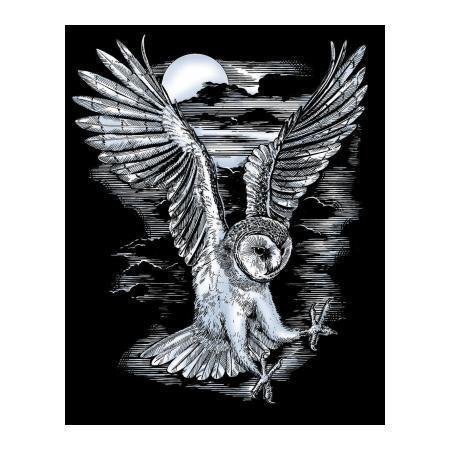 Набор для творчества Sequin Art ARTFOIL SILVER Barn Owl SA0537