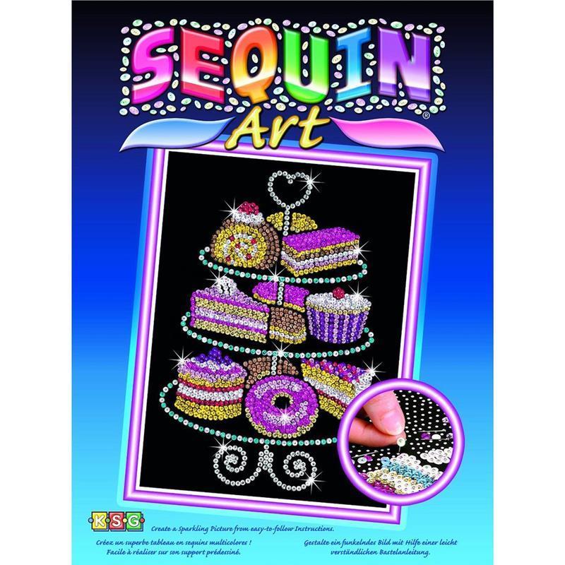 Набор для творчества Sequin Art BLUE Cakestand SA1423
