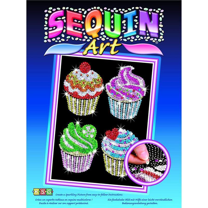 Набор для творчества Sequin Art BLUE Cupcakes SA1130
