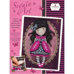 Набор для творчества Sequin Art GORJUSS Gorjuss Ladybird New SA1614