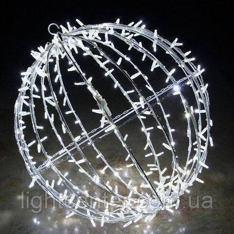Светодиодная фигура Шар диаметр 150 см