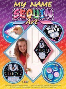 Набор для творчества Sequin Art MY NAME Penguin SA1206