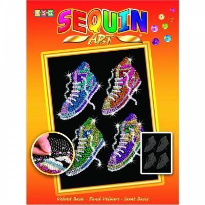 Набор для творчества Sequin Art ORANGE Street Feet SA1514