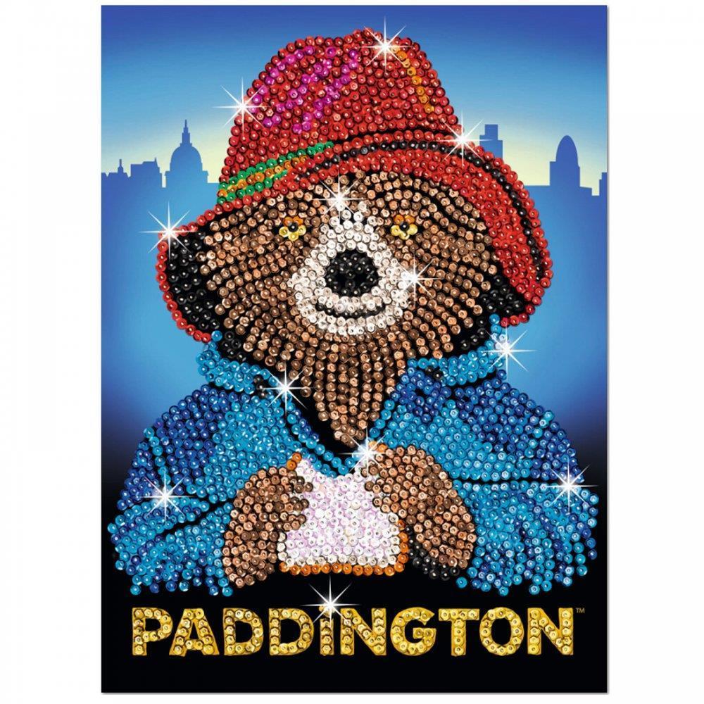 Набор для творчества Sequin Art PADDINGTON Movie Paddington Face SA1508