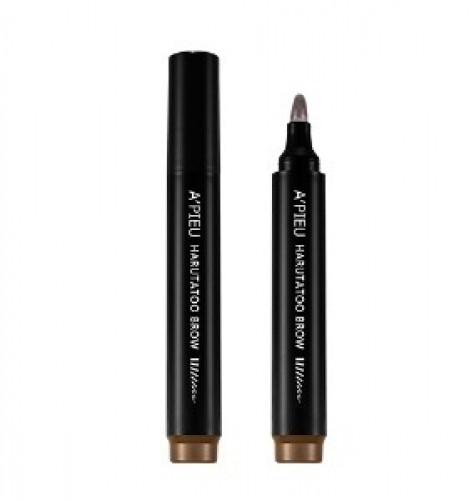 Тинт-маркер для бровей A´PIEU Harutatoo Brow dark brown