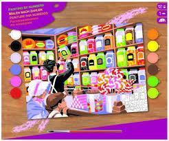Набор для творчества Sequin Art PAINTING BY NUMBERS SENIOR Sweet Shoppe SA1520