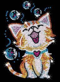 Набор для творчества Sequin Art RED Bubbles the Kitten New SA1602