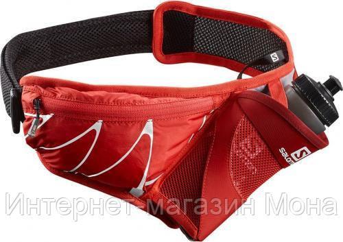 4ca3c9053fc6 Соломон Пояс для бега Sensibelt Fiery Red/Black - Интернет-магазин Мона в  Киеве